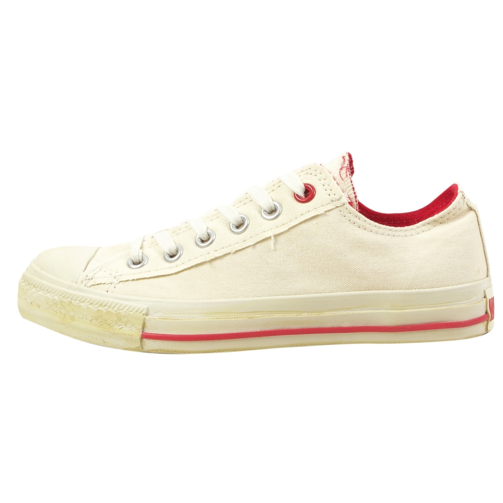 Converse (PRODUCT) Red Chuck Taylor All Star Ox Retro Shoes - Unisex - ShoeBacca.com