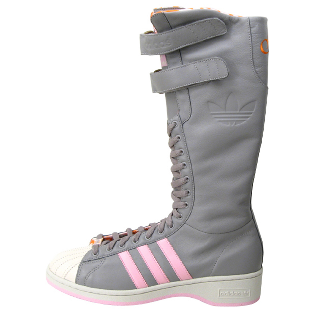adidas Missy Elliot Remix 3 Stripe Boots Shoes - Women - ShoeBacca.com