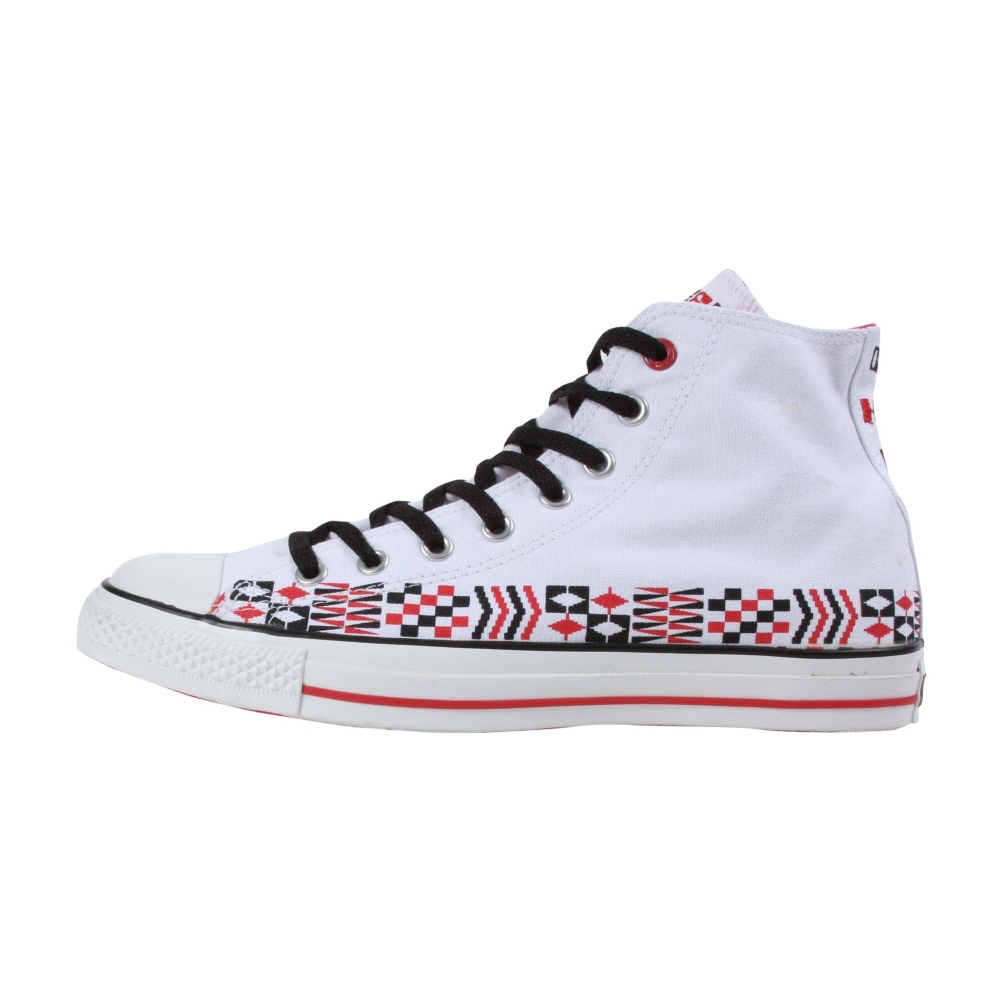 Converse (PRODUCT) Red Chuck Taylor All Star 100 Wheels Hi Retro Shoes - Unisex - ShoeBacca.com