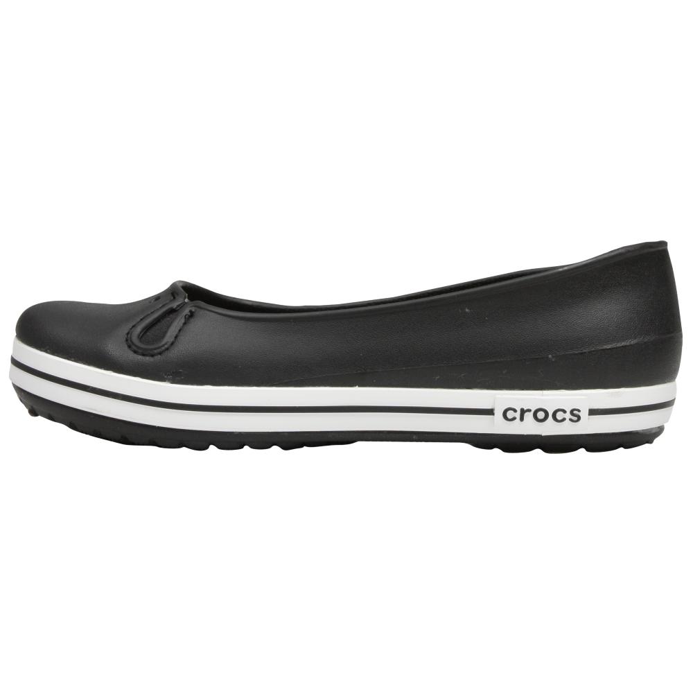 Crocs Crocband Flat Womens Flats Shoe - Women - ShoeBacca.com