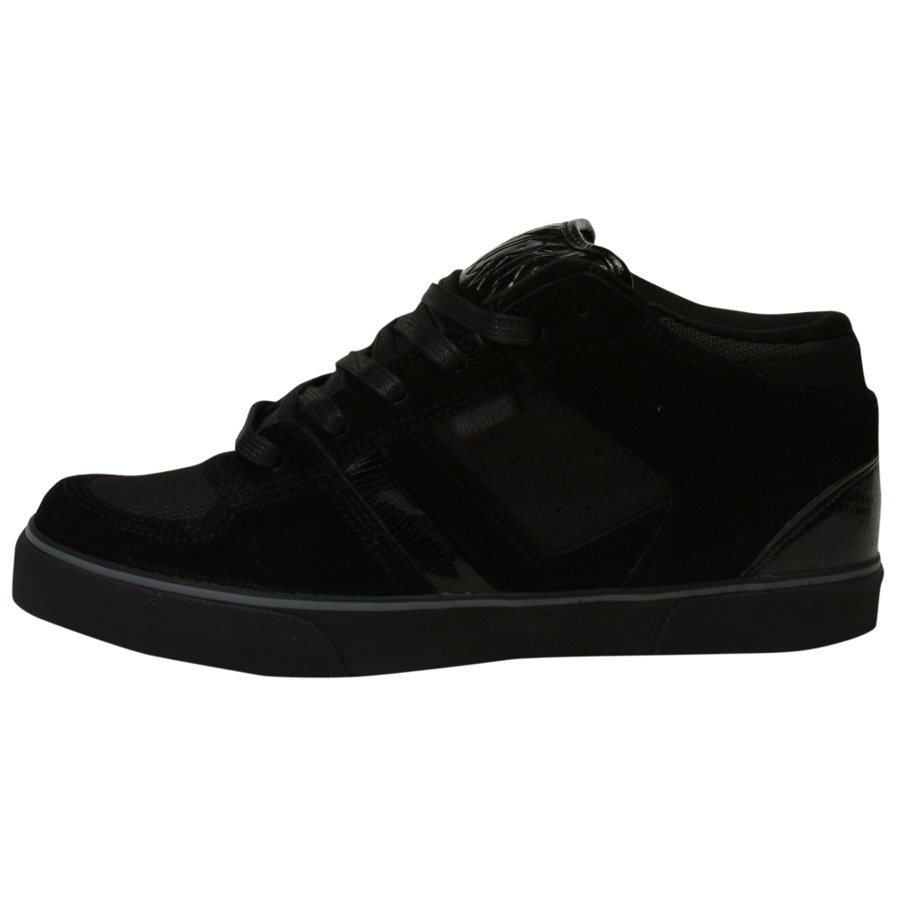 Osiris Chino Mid Back in Black Skate Shoes - Men - ShoeBacca.com