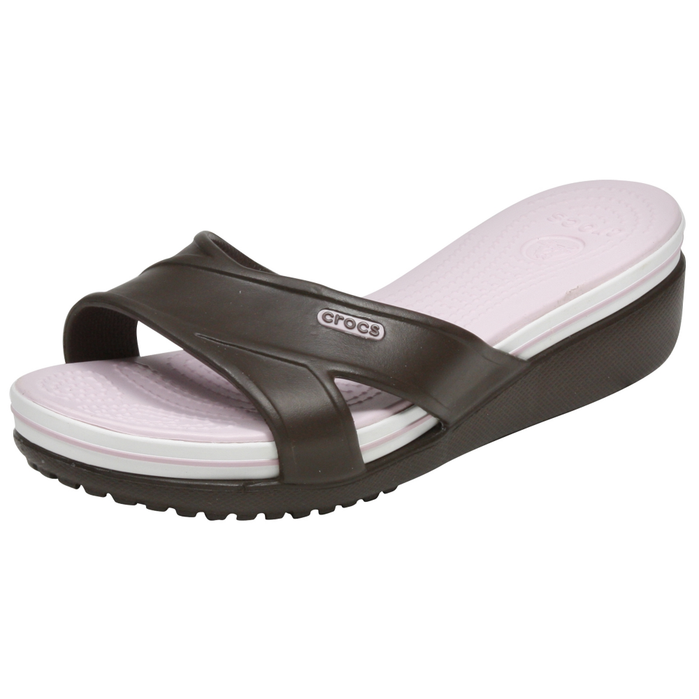Crocs Crocband Wedge Sandals Shoe - Women - ShoeBacca.com