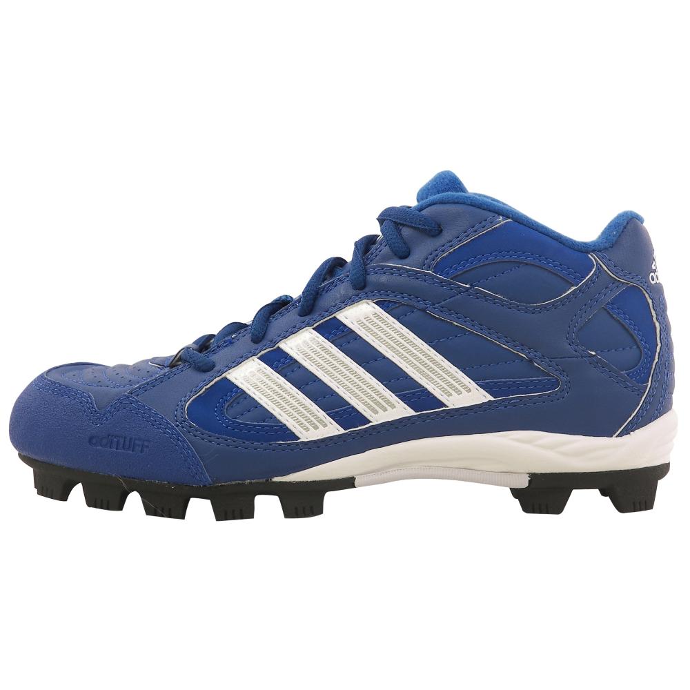 adidas Triple Star 5 Mid Baseball Softball Shoes - Kids - ShoeBacca.com