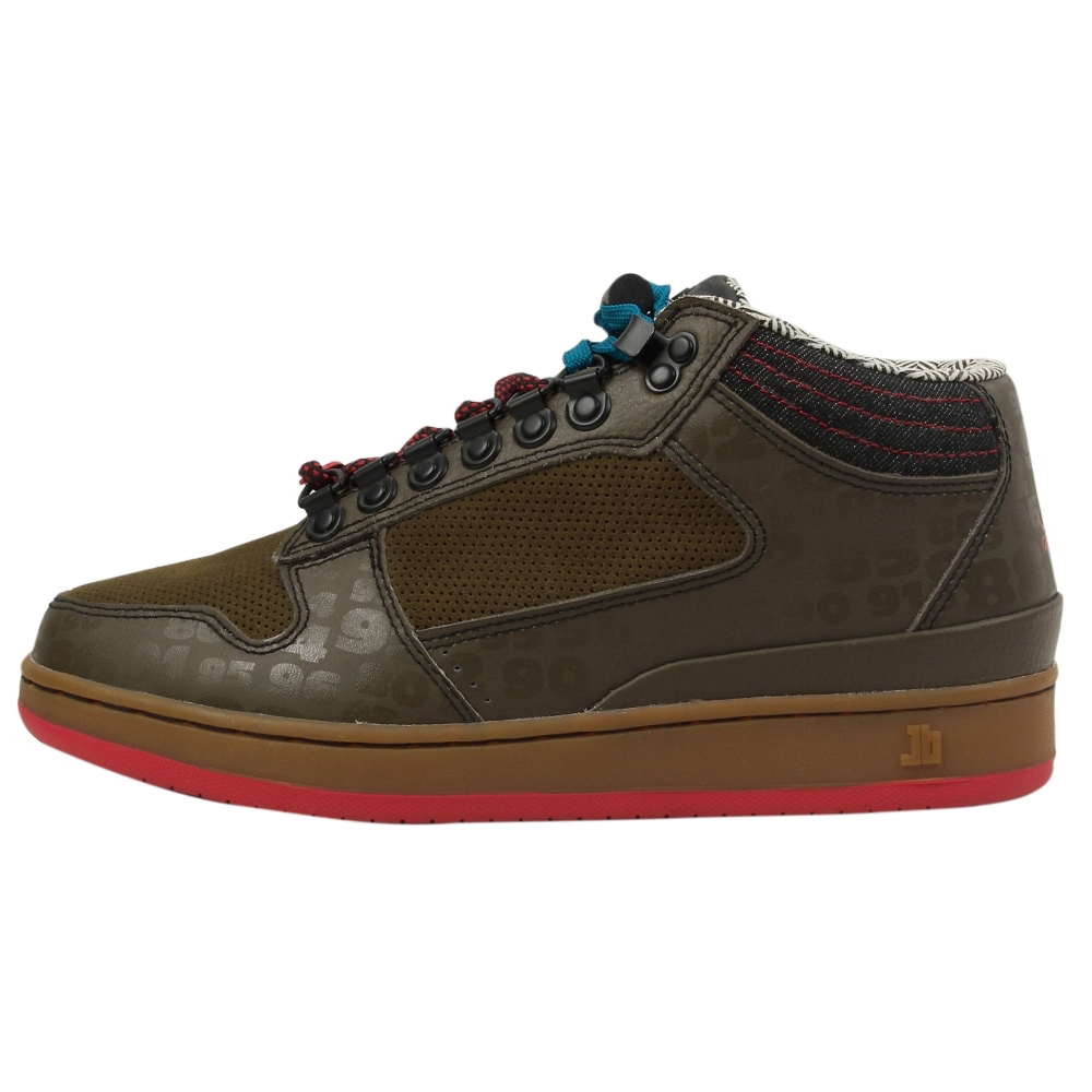 JB Classics Getlo Mid Wonder Years Swamped Athletic Inspired Shoes - Men - ShoeBacca.com