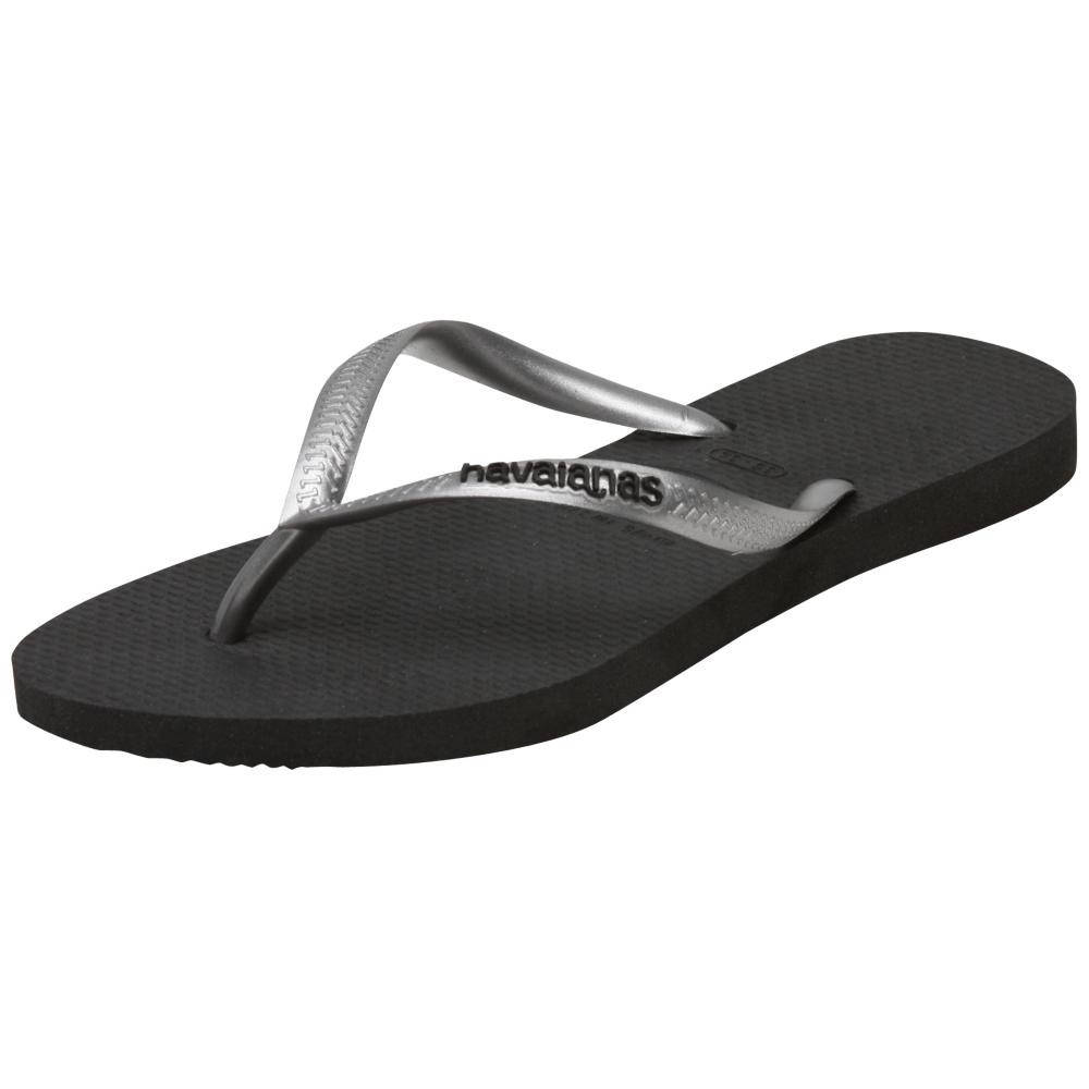 Havaianas Slim Logo Pop-Up Sandals - Women - ShoeBacca.com