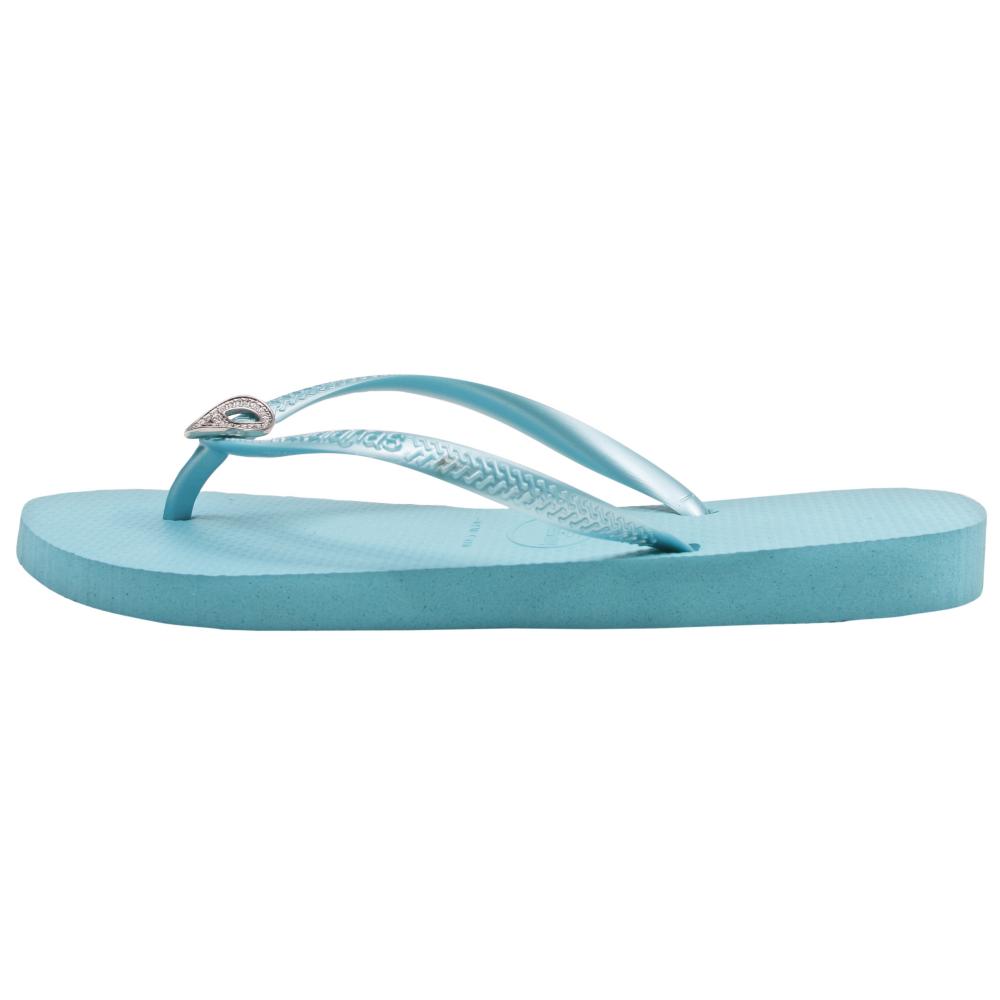 Havaianas Slim Crystal Peace Sandals - Women - ShoeBacca.com