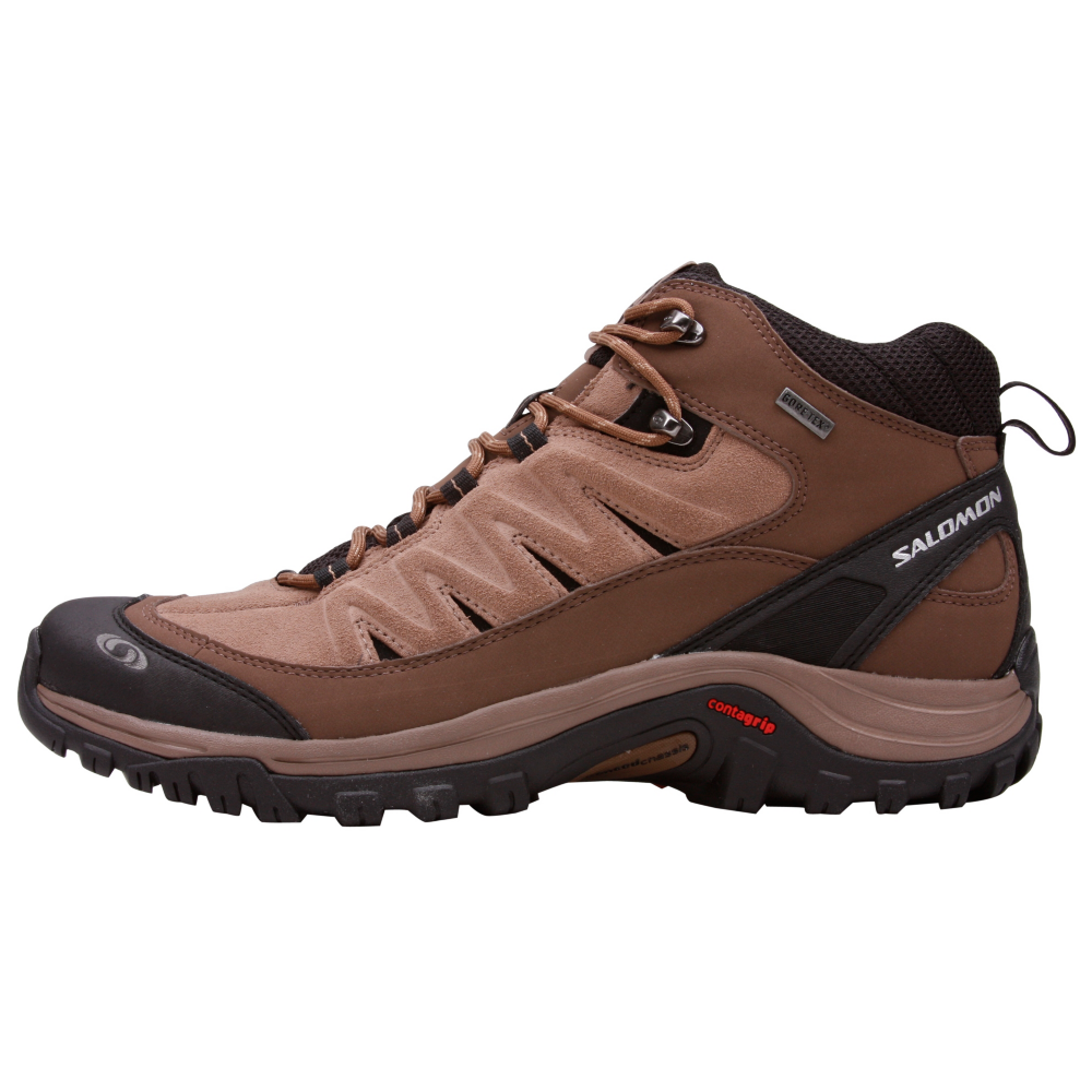 Salomon Exit Peak Mid GTX Hiking Shoes - Men - ShoeBacca.com