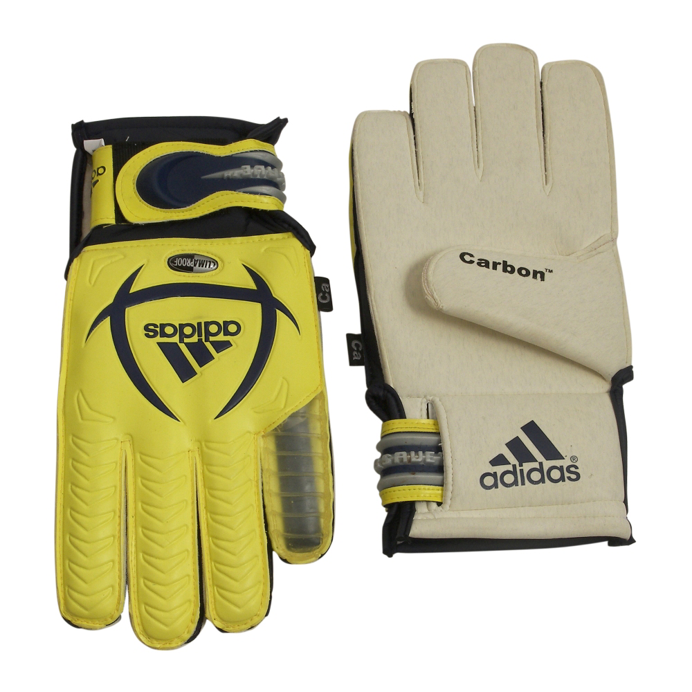 adidas Fingersave Cup Carbon +15 Gloves Gear - Unisex - ShoeBacca.com