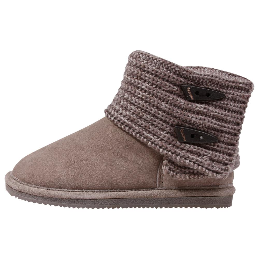 Bearpaw Cable Knit Winter Boots - Kids - ShoeBacca.com