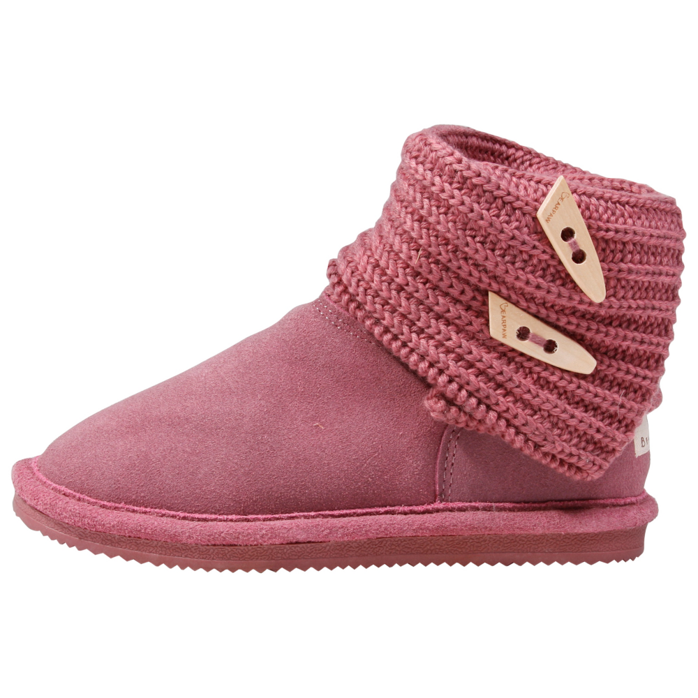 Bearpaw Cable Knit Winter Boots - Toddler,Kids - ShoeBacca.com