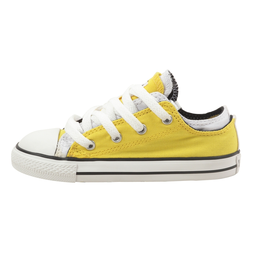 Converse Chuck Taylor All Star Double Upper Ox Retro Shoes - Infant,Toddler - ShoeBacca.com