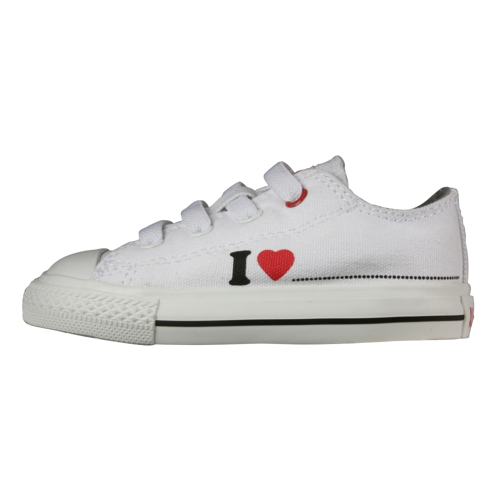Converse Chuck Taylor Red Stretch Ox Retro Shoes - Infant,Toddler - ShoeBacca.com