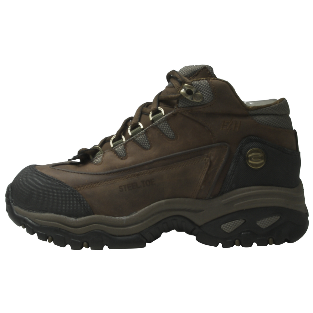 Skechers Steel Toe Hiker Work Boots - Men - ShoeBacca.com