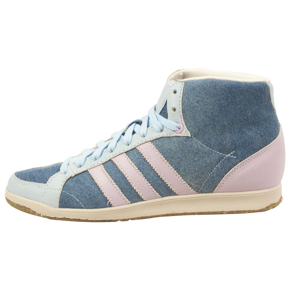 adidas Adi Hoop Mid Gruen Athletic Inspired Shoes - Women - ShoeBacca.com