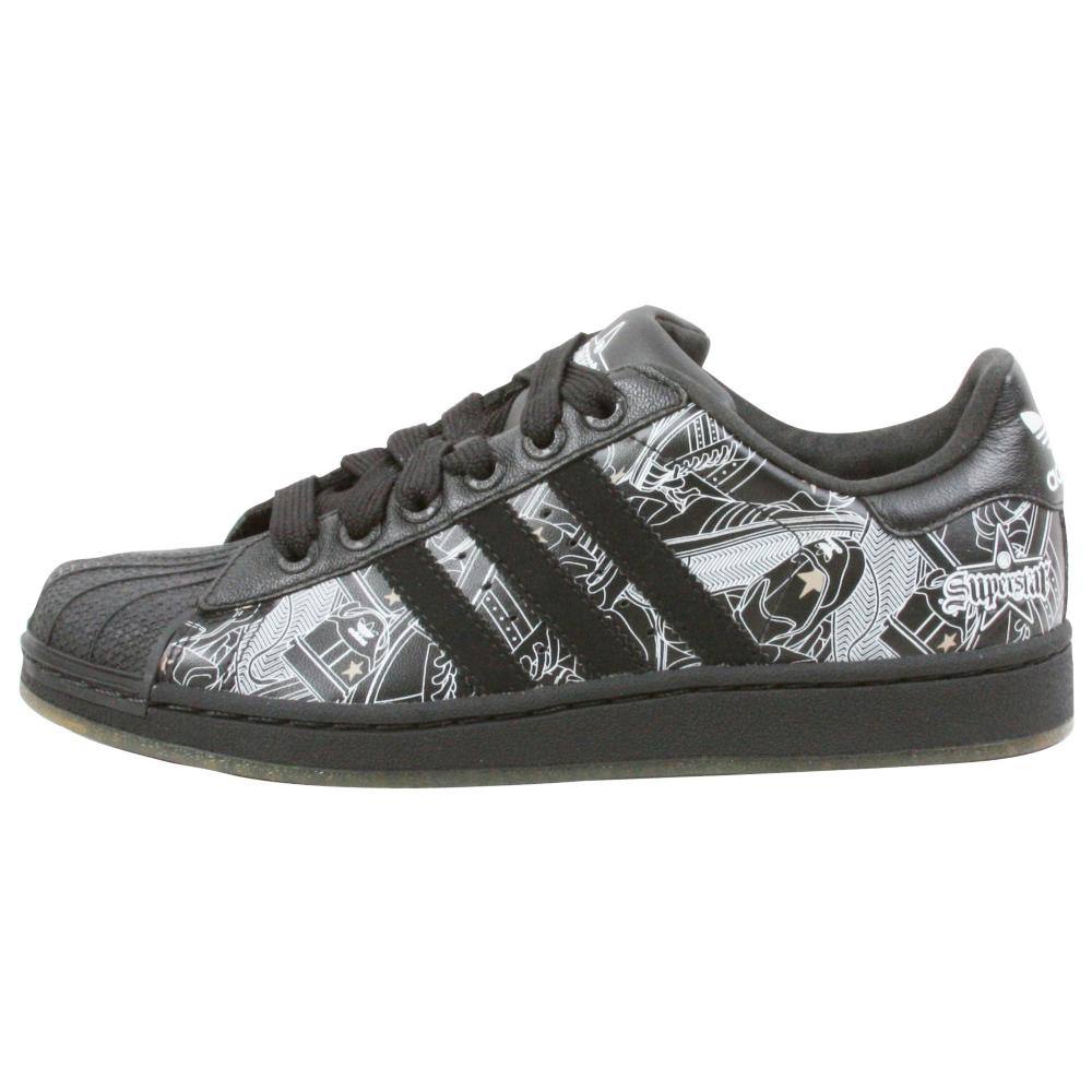 adidas Superstar II Sign Retro Shoes - Kids - ShoeBacca.com
