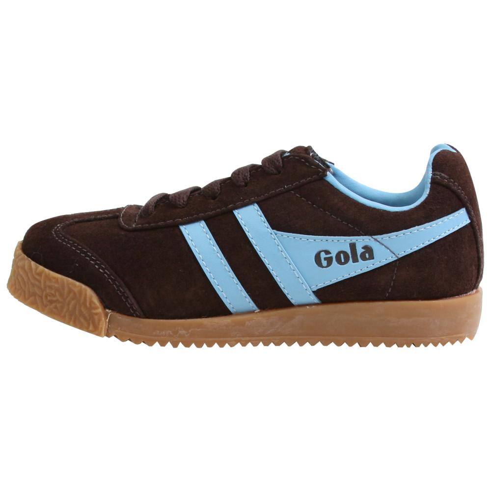Gola Harrier Suede Retro Shoes - Kids,Toddler - ShoeBacca.com