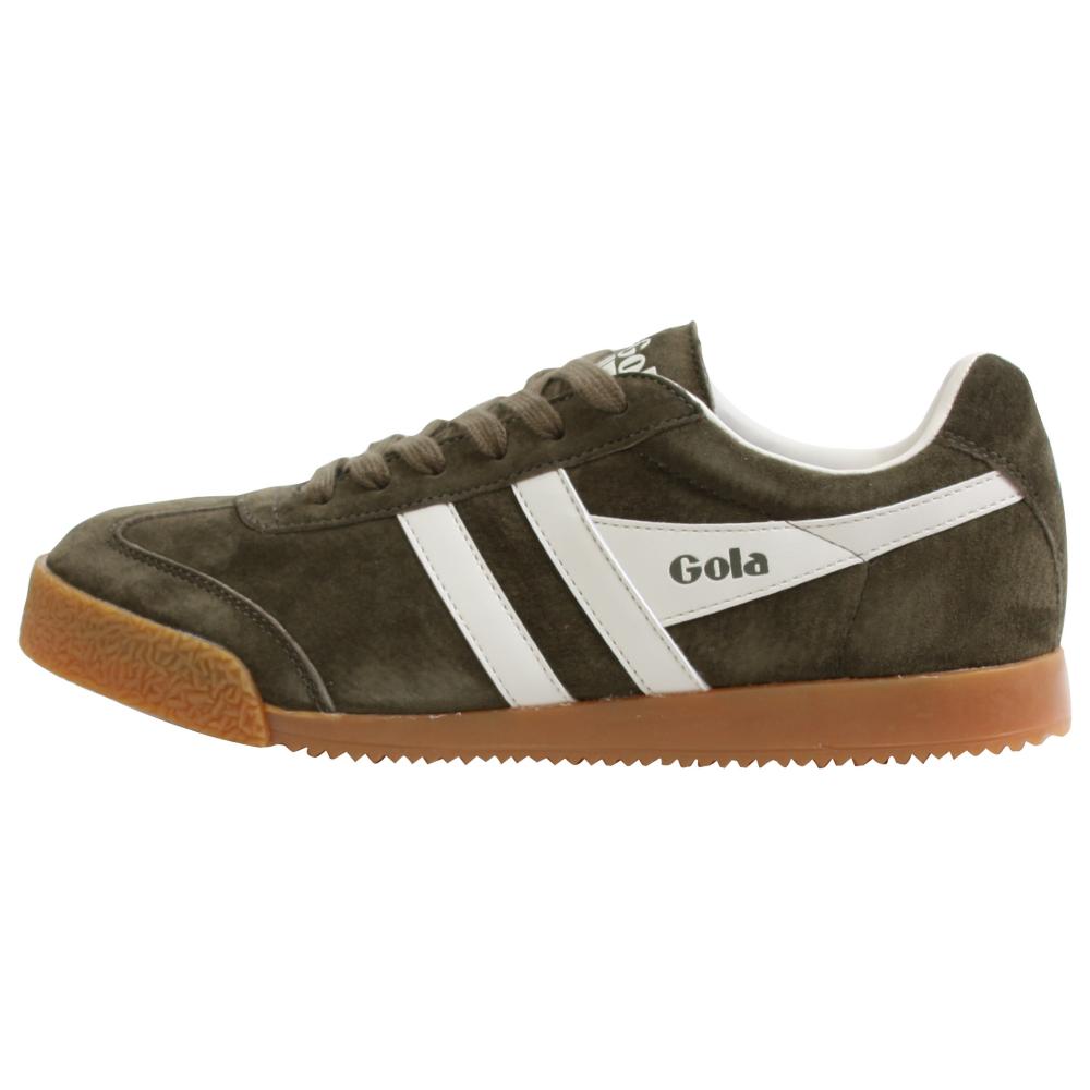 Gola Harrier New Suede Retro Shoes - Women - ShoeBacca.com