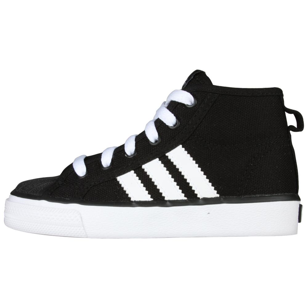adidas NZA Shell Mid Retro Shoes - Infant,Toddler - ShoeBacca.com