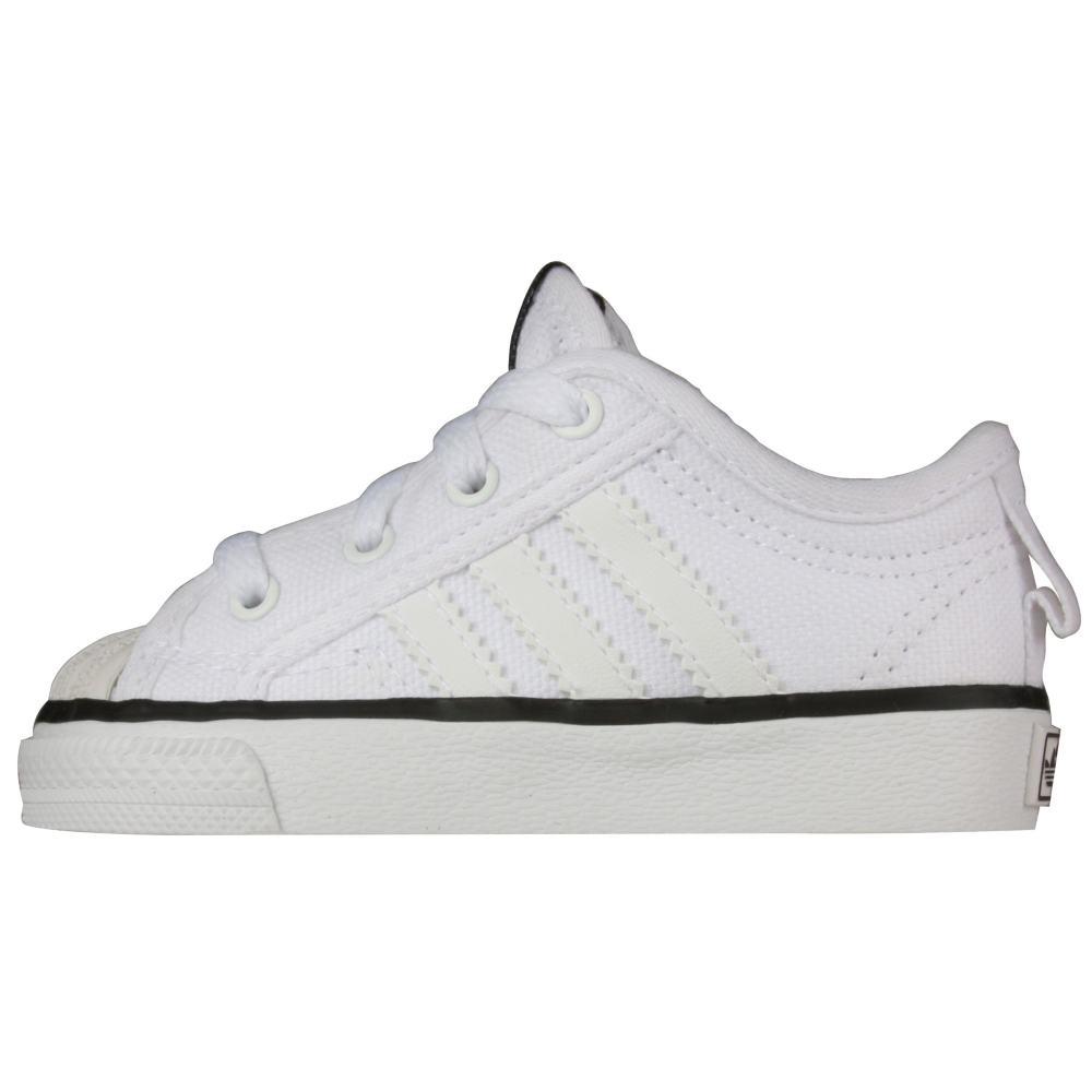 adidas NZA Shell Lo Retro Shoes - Infant,Toddler - ShoeBacca.com