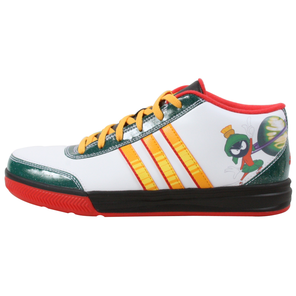 adidas Shooting Star Mid Basketball Shoes - Kids,Men,Toddler - ShoeBacca.com