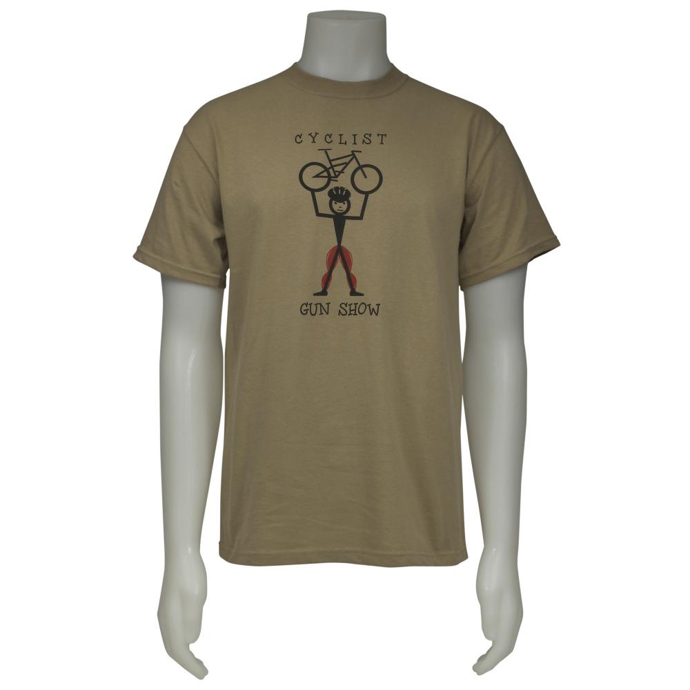 Racers and Chasers Cyclist Gun Show T-Shirt - Men - ShoeBacca.com