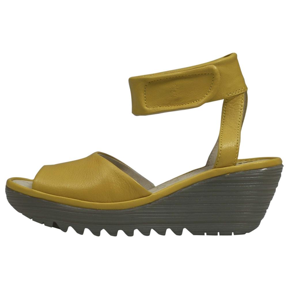 Fly London Yula Heels Wedges Shoe - Women - ShoeBacca.com