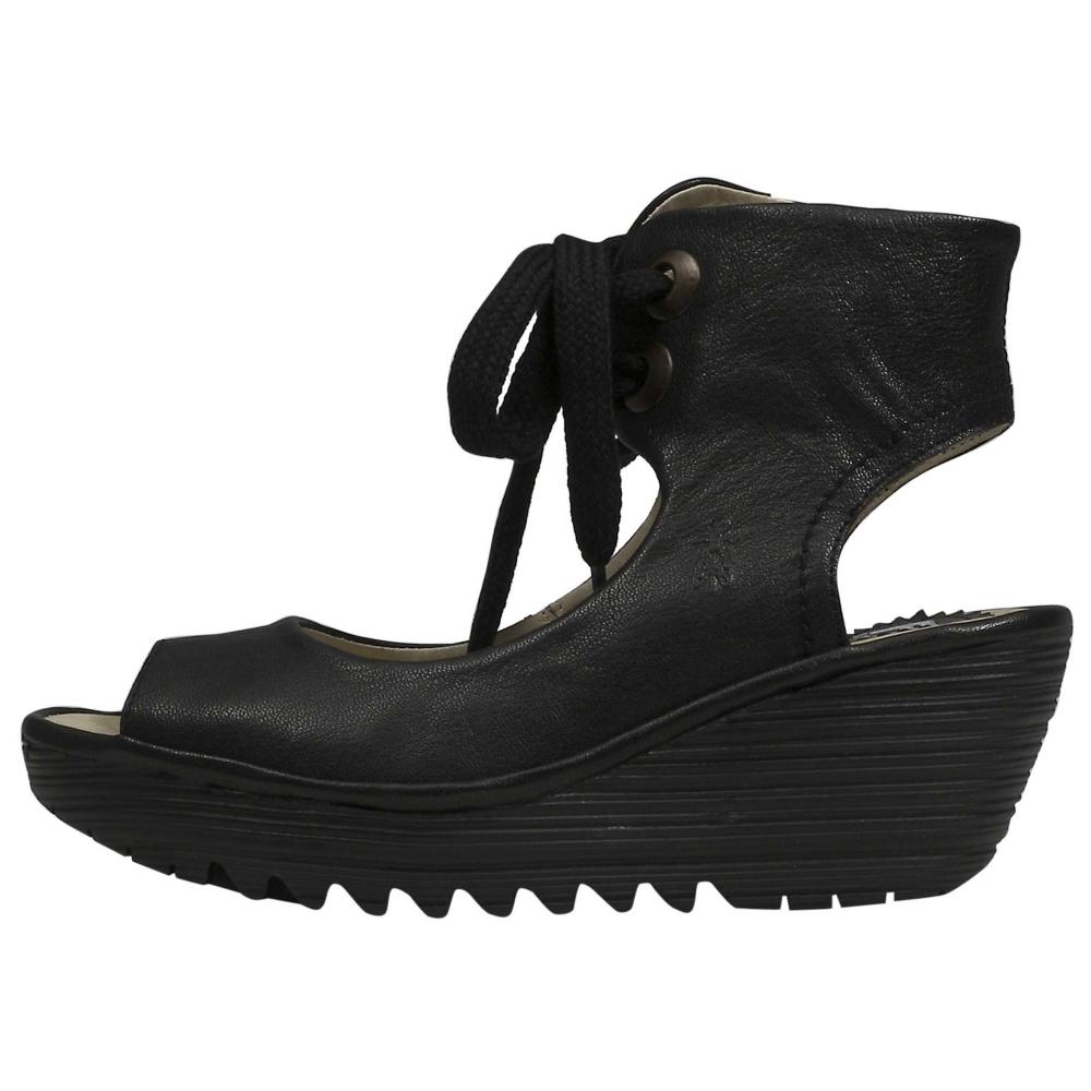 Fly London Yaffa Heels Wedges Shoe - Women - ShoeBacca.com