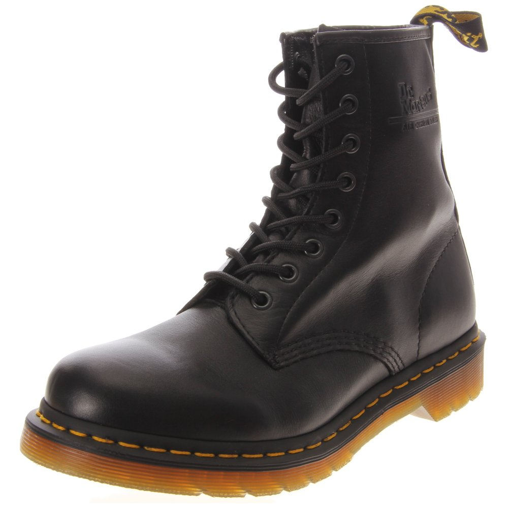 Dr. Martens Women's 1460W Leather - 8 Eyelet Lace-Up Combat Boots