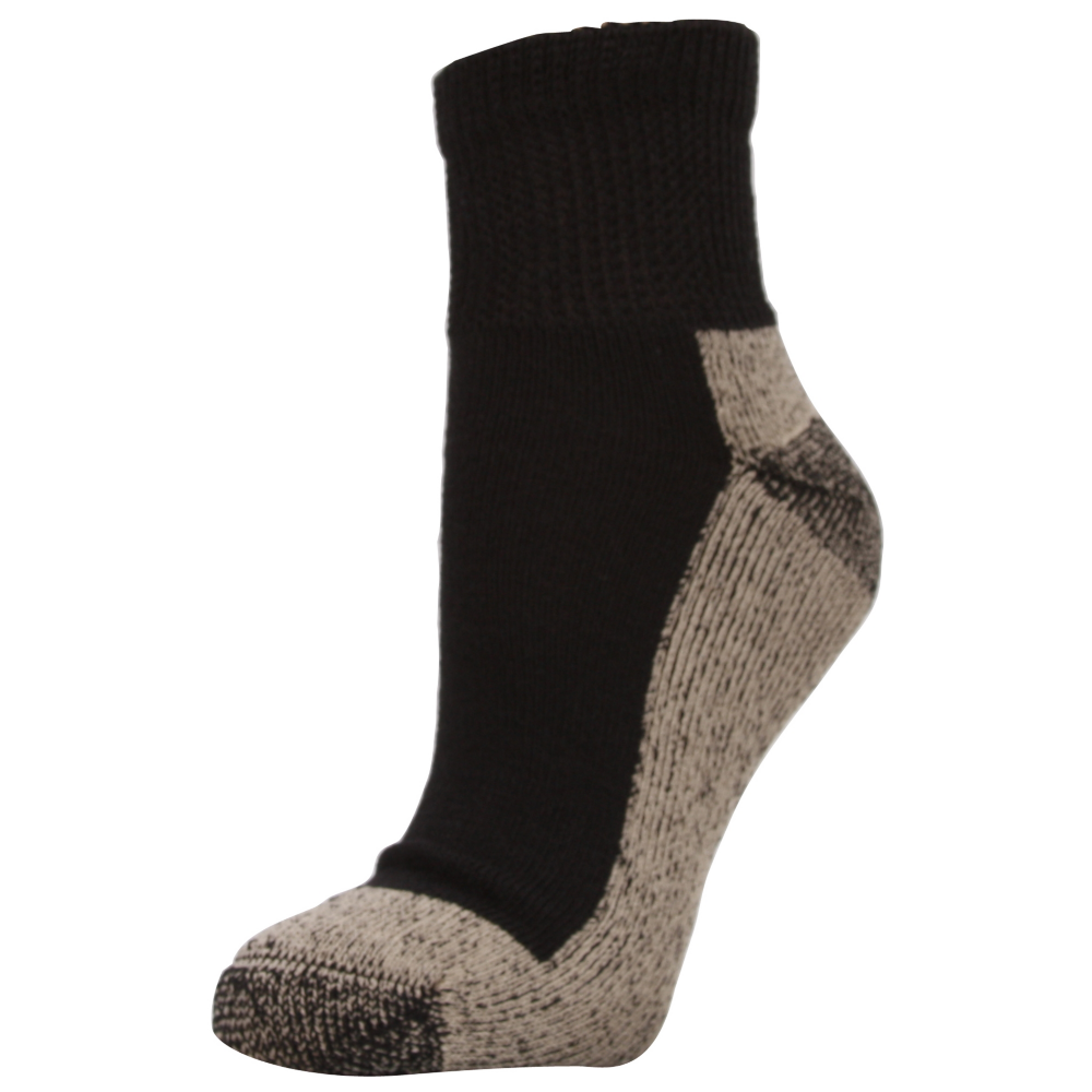 Aetrex Non-Binding Extra Cushion Ankle 3 Pair Pack Socks - Unisex - ShoeBacca.com
