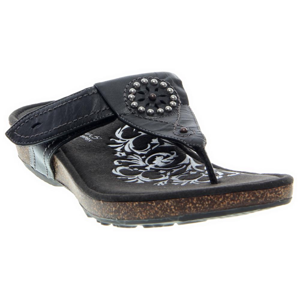 Aetrex Emily Sandals Shoe - Women - ShoeBacca.com