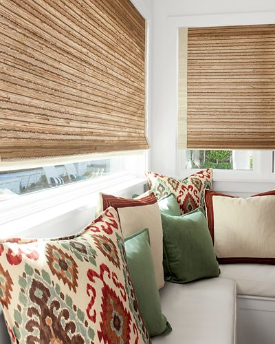Natural woven waterfall shades for Smith and noble promo code