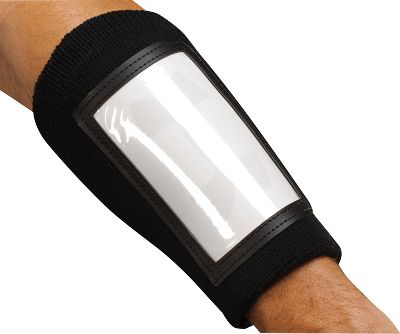 Under Armour Black Playmaker Wrist Coach ? Wrist Coaches/Wristbands