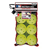 Franklin MLB Indestruct-A-Ball Oversize Training Softballs (6 Pack)