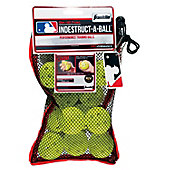 Franklin MLB Indestruct-A-Ball Yellow Mini Training Balls (1