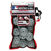 Franklin MLB Indestruct-A-Ball White Mini Training Balls (12 Pack)