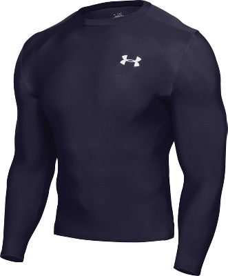 Under Armour Men's Long Sleeve Compression Shirt 1201163NAVS