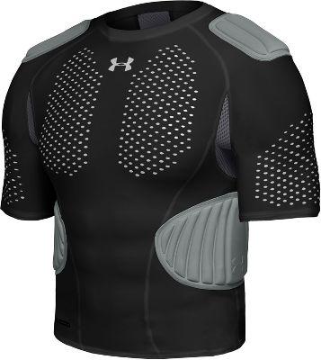 Under armour youth mpz blast black football shirt for Under armor football shirts
