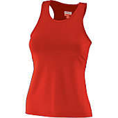 Augusta Ladies Red Racerback Tank Top