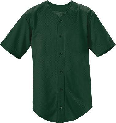 Teamwork Youth Trailblazer Faux Full Button Baseball Jersey