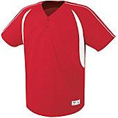 High 5 Youth Impact Two-Button Baseball Jersey