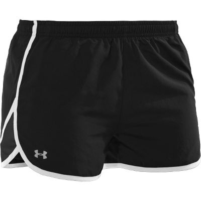 Under Armour Women's Escape Workout Shorts 1209147BLKL