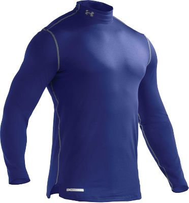 Under Armour Men's ColdGear Fitted Mock Shirt