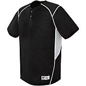 High 5 Youth Bandit Two-Button Baseball Jersey
