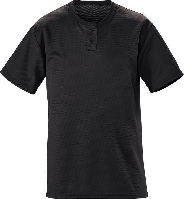 TeamWork Adult Slugger Solid 2-Button Baseball Jersey