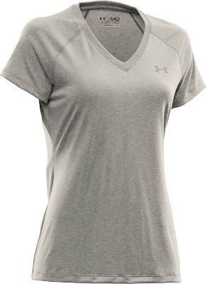 Under Armour Women's V-Neck Tech T-Shirt
