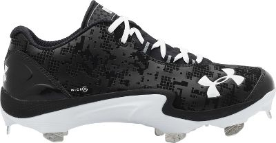 Under Armour Men's Natural Low St Metal Baseball Cleats