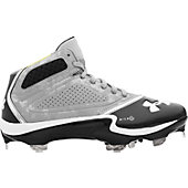Under Armour Men's Heater Metal Mid Baseball Cleat