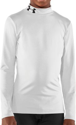 Under Armour Youth Evo Coldgear Fitted Mock Shirt
