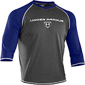 "Under Armour Men's Baseball 3/4"" Sleeve Shirt"