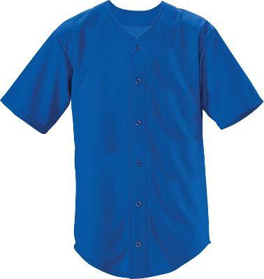 Teamwork Trailblazer Faux Button Baseball Jersey